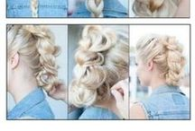 Hairstyles / These are just some tutorials of hair that really like ........