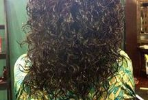 )Deva Cut( / This type of cut is specifically for Curly hair.