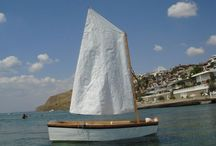 Sailing boat d-5 / Home made boat