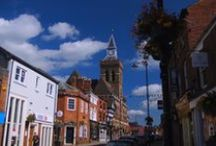 Congleton - my home town / Some of the architecture the local council has yet to ruin.
