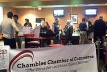 November 2014 Business After Hours / Every second Tuesday of each month we hold these networking events, including live music and door prizes, at a local business. Entrance for non-members is $10. The Chamblee Chamber November 2014 Business After Hours was held at the BowlMor Bowling Alley.