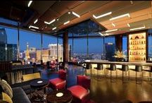 Mandarin Bar - Las Vegas / Located on the 23rd floor of the Mandarin Oriental Las Vegas, the Mandarin Bar offers breathtaking views of the Vegas Strip and a wide assortment of Asian inspired cocktails.  With super chic surroundings and stylish ambiance, the Mandarin Bar is clearly Las Vegas' most exclusive night spot. http://hotelcocktail.com/mandarin-bar-las-vegas/