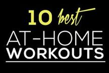 At Home Fitness / Some tips, some tricks, and some helpful healthy living practices for the at home fitness connoisseur.