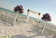 """""""I Do!"""" to the Beach / Five Exclusive Venues, One Exceptional Wedding  Whether you envision a spectacular storybook wedding, an intimate affair for family and friends, or a Sarasota destination wedding complete with spa parties and golf outings, Longboat Key Club has everything you need to transform your #Sarasota beach wedding into the celebration of a lifetime. #BeachWedding #FloridaWedding"""