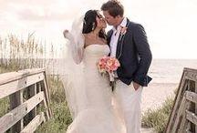 Say YES to the Dress! / We've pinned a few of our favorite beach-friendly wedding dresses. #Beach #WeddingDress #BeachWeddings #Sarasota #LongBoatKeyClub