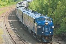 Locomotives and Railroads / Railfans, we've got all the diesel engines and steam engines you love in our railway books!
