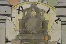 Azulejos nas Estações Ferroviárias | Azulejo at Railway Stations / #Azulejo #EstaçõesFerroviárias #RailwayStations