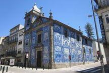 Porto: igrejas com fachadas azulejadas | Oporto: churches with tiled façades / #Azulejo #Porto