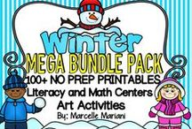 Winter / A wide variety of Winter Themed resources created by our TeachInABox teacher sellers / members.