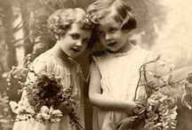 Vintage photos + postcards