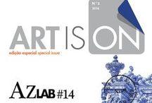 ARTisON 2 special - AzLab#14 Azulejos and Frames. Proceedings / #Azulejo #ARTisOn