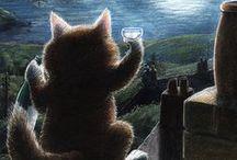 Lovely children's book artwork