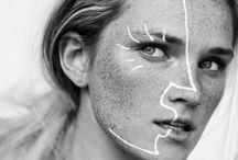 •make-up•