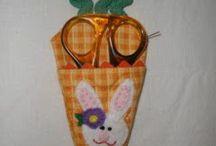 Stitching / Stitchery. Ideas, patterns, sewing machine crafts, sewing kits, pin cushions.