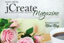 Issues / Premier May Issue of jCreate Magazine. A #Jewish #Crafting #Magazine!