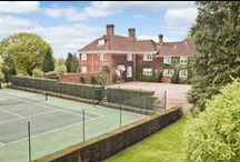 Tennis Courts / With Wimbledon on our TV's for the next 2 weeks everyone is going Tennis mad and to celebrate we are displaying our favourite properties with tennis courts.  Chestertons is the London and international residential property specialist. We know our business and our markets like no one else.   www.chestertons.com