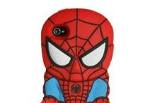 Cartoon Cases / Here's a collection of cell phone cases inspired by your favorite cartoons!