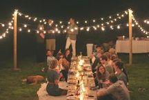 Réception / Reception / Des idées pour la réception de votre pacs / mariage !