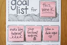 Organising / Organising the home, office, craft room. Ideas and printables.