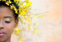 Coiffures mariées / Hairstyles / Des idées de coiffures pour votre mariage / pacs !