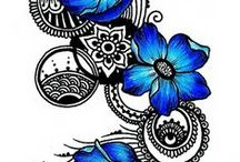 pauline / servies bloemen etc flowers pottery brocante the city of goe in the netherlands
