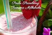 HEALTHY SMOOTHIES / Delicious and refreshing smoothies by Catherine Katz @Cuisinicity