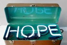 Hope / Let us all bring Hope to someone next to us :)