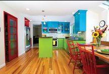Kitchen Colour Ideas / Colour combinations and ideas for your kitchen.