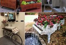 From Old to New-ish / Here are some great examples of taking something and repurposing it into something new.