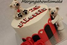 Meryngahowtomake / https://www.facebook.com/pages/Meryngahowtomake/189419417820248 Cake decorations