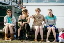 """All adventurous women do"" GIRLS / GIRLS HBO/Lena Dunham"