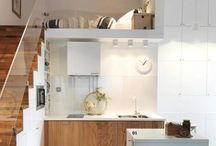 Compact living / Living in small spaces