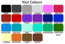 Colours to match complexion / Colour palettes for all complexions and hair colour