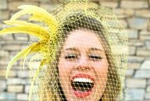 Mariage en jaune / Yellow wedding / Vous allez vous unir en été ou vous avez tout simplement envie de soleil dans votre réception? Tentez le jaune !