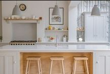 Kitchen Islands Inspiration / A selection of kitchen island designs. Inspiration and ideas for your home interiors.