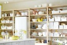 Kitchen Shelving Inspo