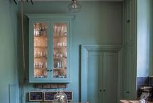 Glazed Cabinets / Call them what you want: glazed cabinets, glass fronted cabinets, we've got them all in this board!