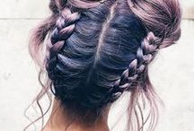 hair / Hair & makeup.