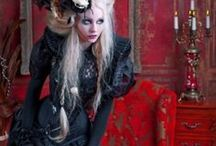 Victorian Inspirations!  / Love the mix and match of Victorian, Steampunk, Goth and Lolita styles!