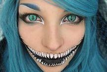 Halloween Makeup - Insanity!