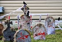 Halloween Decorating / This board is all about decorating for Halloween.  A lot of the pins are DIY projects that could be made on a budget,