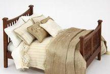 Miniature furniture, tutorials and inspirasjon. / Hvordan lage miniatyr møbler.