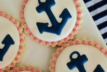 Naughty Nautical / Fashion board for Naughty Naughtical Kraken or Cthulhu fantasy pin-up rockabilly decor and fashion!