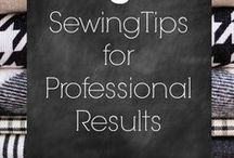 SEWING !  TIPS AND TRICK.