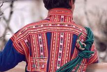 Sami folk costume.  Norwegian. /  National costumes