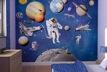Dillan's room / Space theme, age 8
