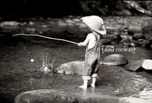 Go Fish / Several chapters of the Sugarplum Recipes are at the river. Kids fishing. Psalm 98:8 Wendy-salter.com Children's book writer