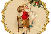 Christmas cards.  JULEKORT / JULEKORT