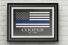 Police Officer Gifts Ideas / A collaboration of unique gift Ideas for police officers