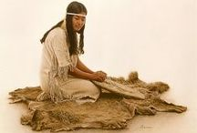 NATIVE AMERICAN ART / Some things made by Indians & paintings done of them by others.